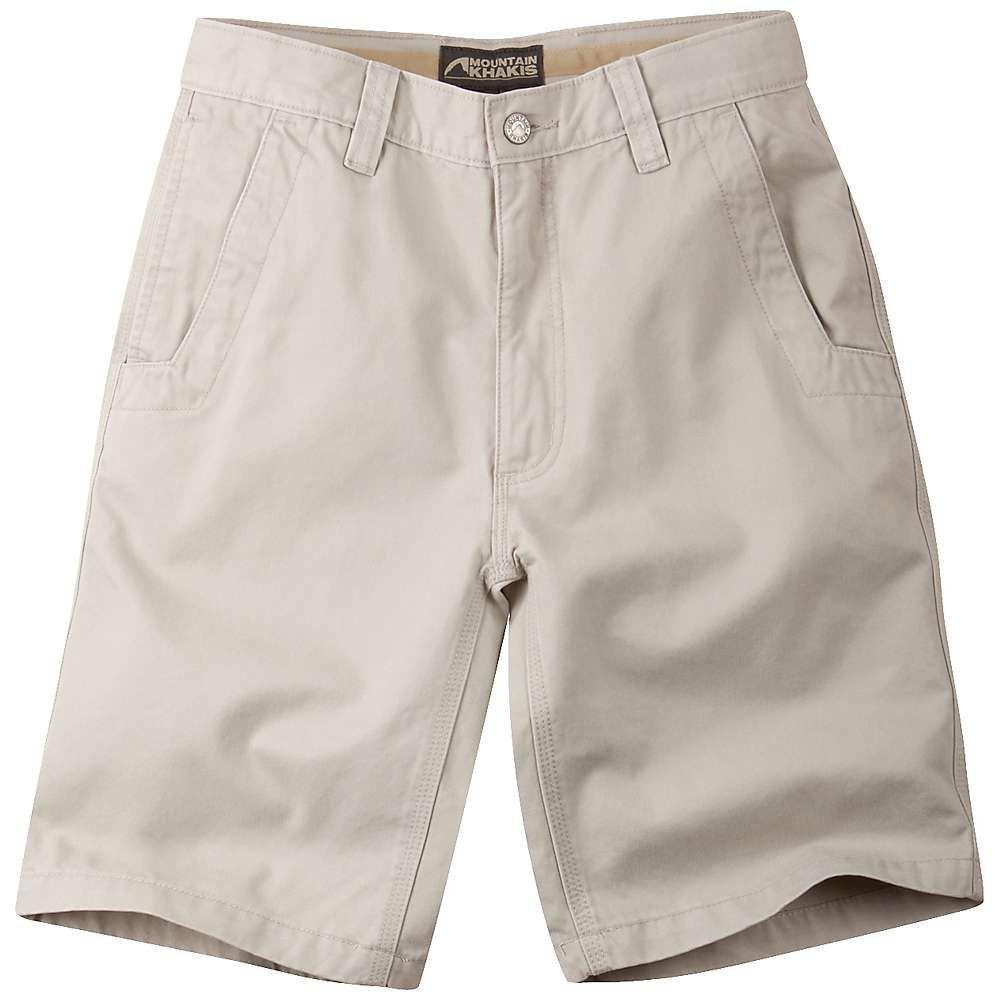 マウンテンカーキス Mountain Khakis メンズ ショートパンツ ボトムス・パンツ【teton twill 10 inch short】Stone