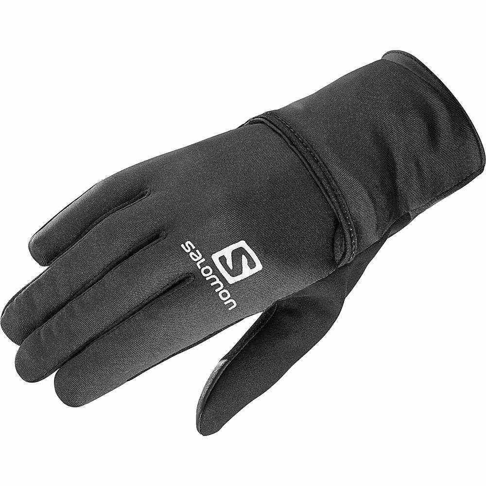 サロモン Salomon メンズ ランニング・ウォーキング グローブ【fast wing winter glove】Black