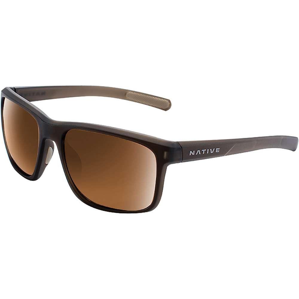 ネイティブ Native メンズ メガネ・サングラス 【wells polarized sunglasses】Matte Brown Crystal/Brown Polarized