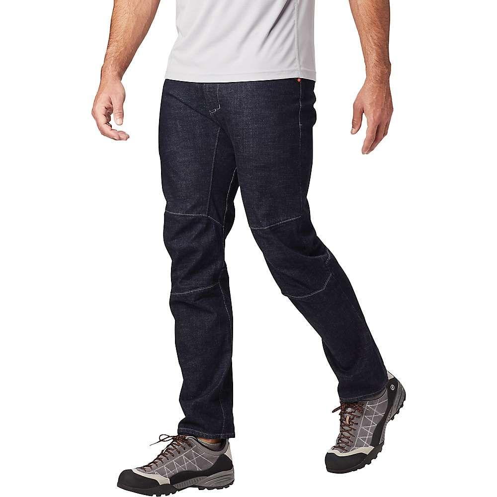 マウンテンハードウェア Mountain Hardwear メンズ ハイキング・登山 ジーンズ・デニム ボトムス・パンツ【selvedge denim climb pant】Dark Wash