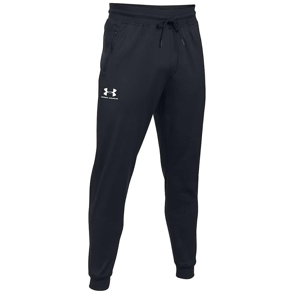 アンダーアーマー Under Armour メンズ ランニング・ウォーキング ジョガーパンツ ボトムス・パンツ【sportstyle jogger pant】Black/White