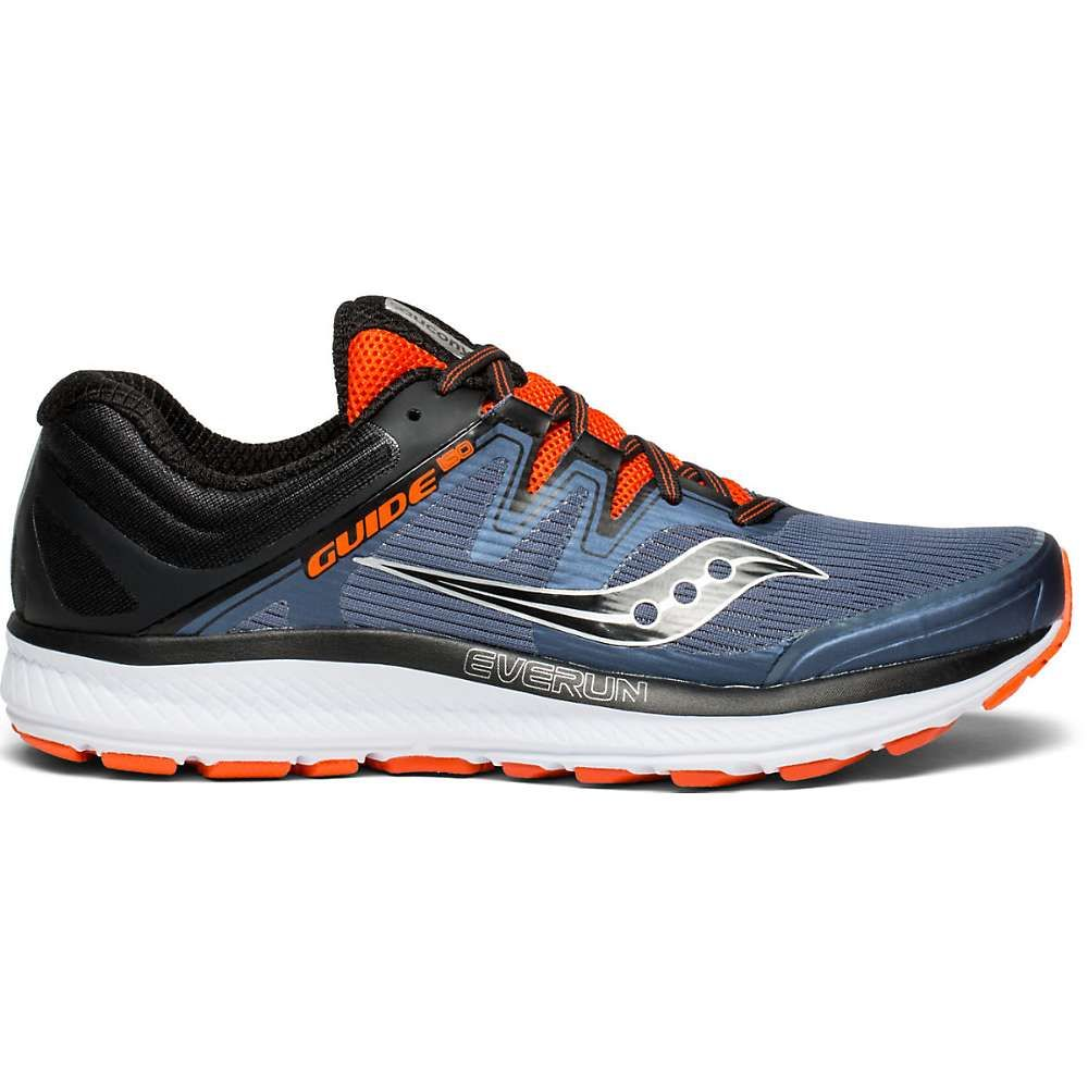 サッカニー Saucony メンズ ランニング・ウォーキング シューズ・靴【guide iso shoe】Grey/Black/Orange