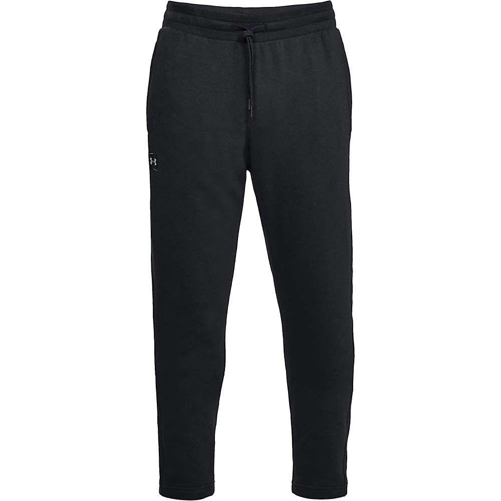 アンダーアーマー Under Armour メンズ ボトムス・パンツ 【rival fleece pant】Black/Black