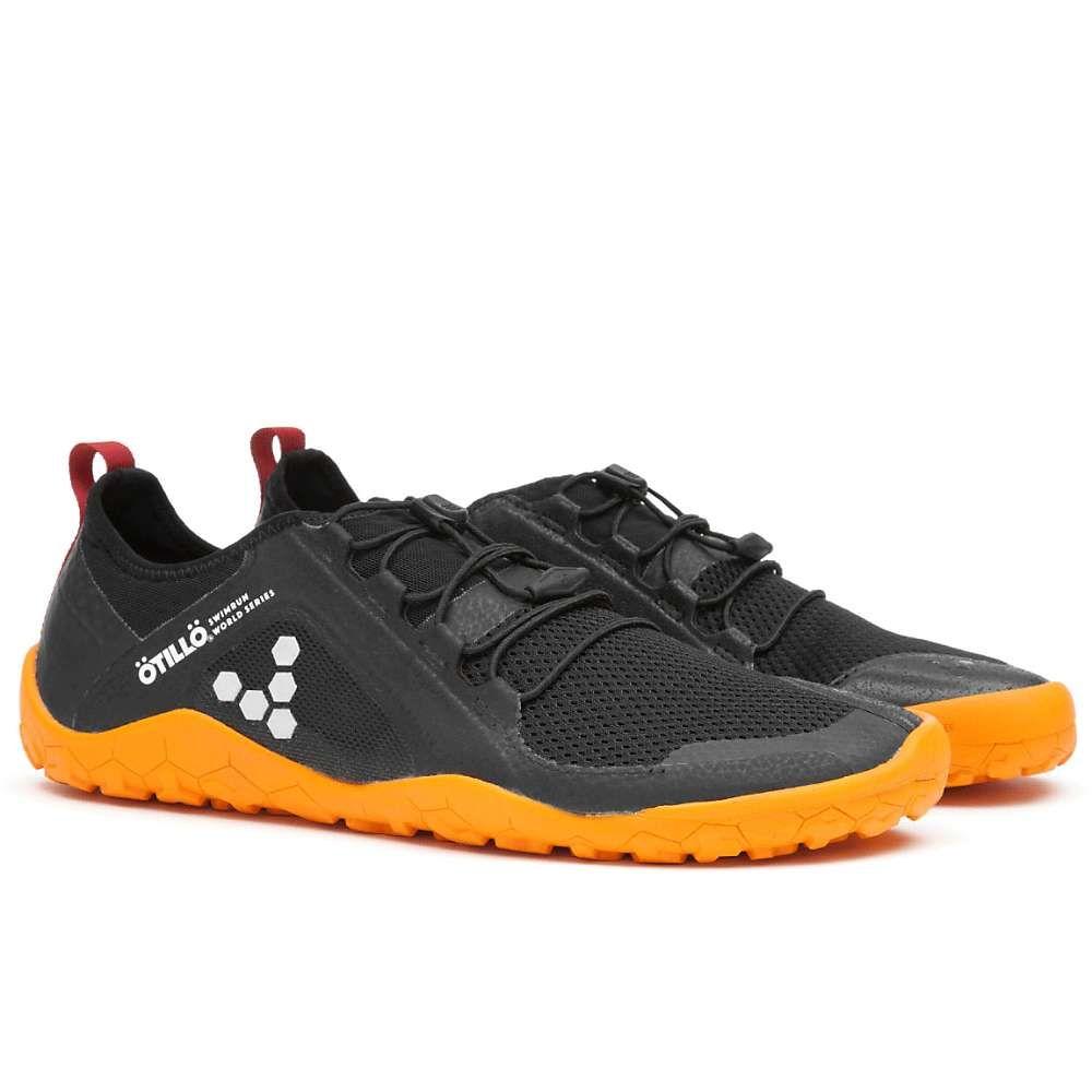 ビボベアフット Vivo Barefoot メンズ ランニング・ウォーキング シューズ・靴【primus swimrun fg shoe】Black/Orange