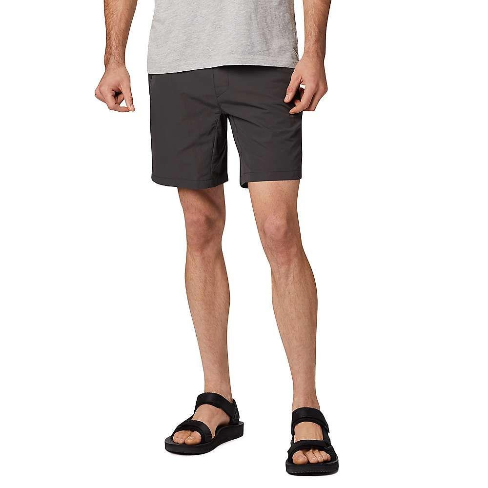 マウンテンハードウェア Mountain Hardwear メンズ ハイキング・登山 ショートパンツ ボトムス・パンツ【railay redpoint 7 inch short】Void