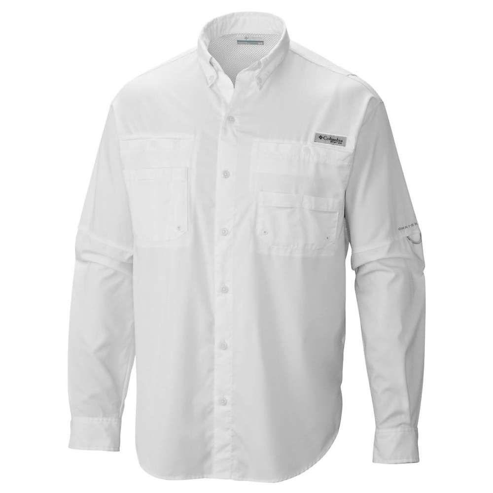 コロンビア Columbia メンズ 釣り・フィッシング トップス【tamiami ii ls shirt】White