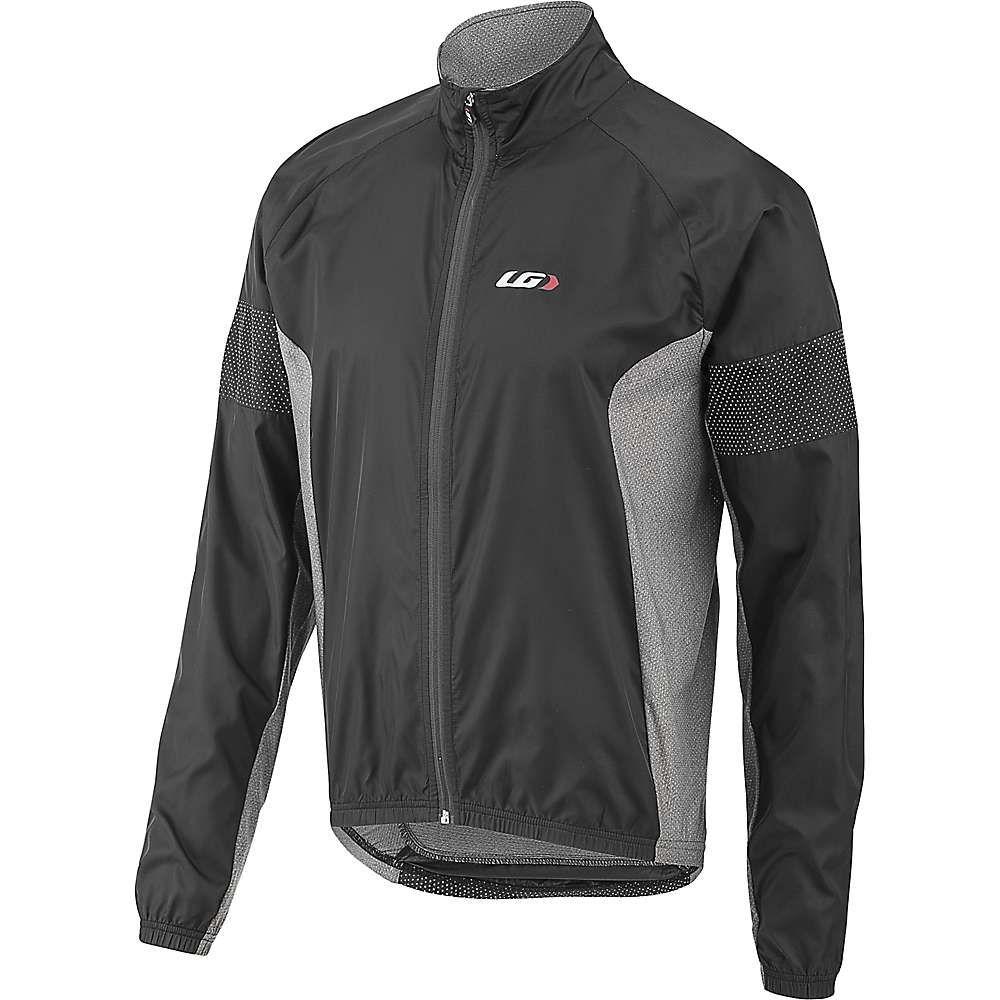 ルイガノ Louis Garneau メンズ 自転車 ジャケット アウター【modesto 3 jacket】黒/Gray