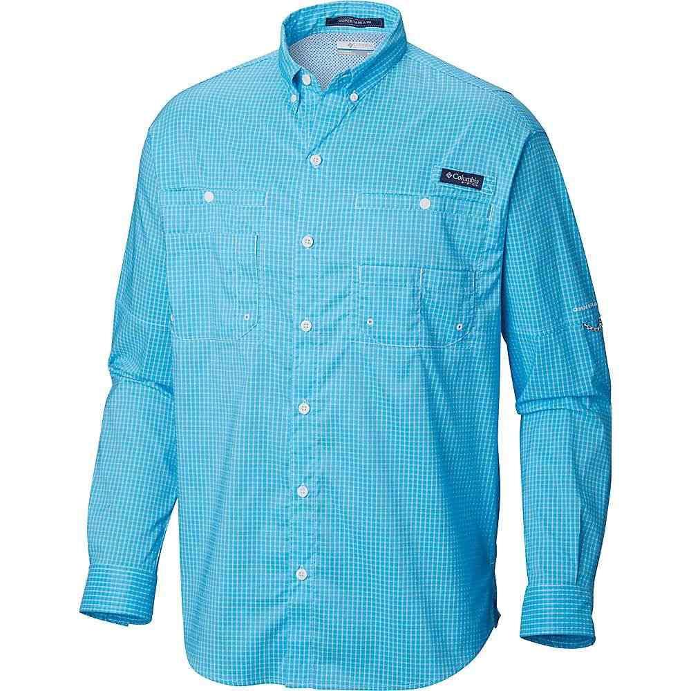 コロンビア Columbia メンズ 釣り・フィッシング トップス【super tamiami ls shirt】Riptide Mini Plaid
