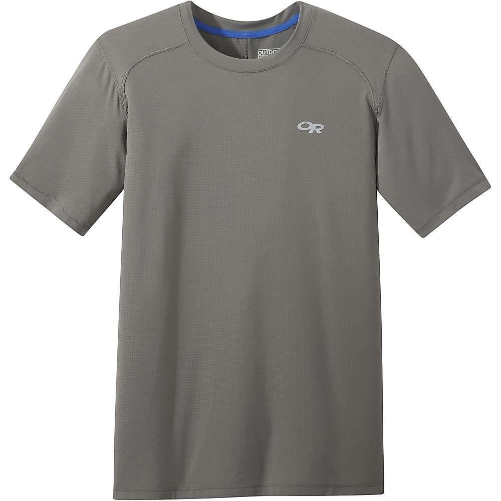 アウトドアリサーチ Outdoor Research メンズ ランニング・ウォーキング Tシャツ トップス【deception ss tee】Pewter