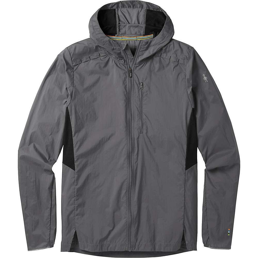 スマートウール Smartwool メンズ ランニング・ウォーキング アウター【merino sport ultra light hoody】Medium Gray
