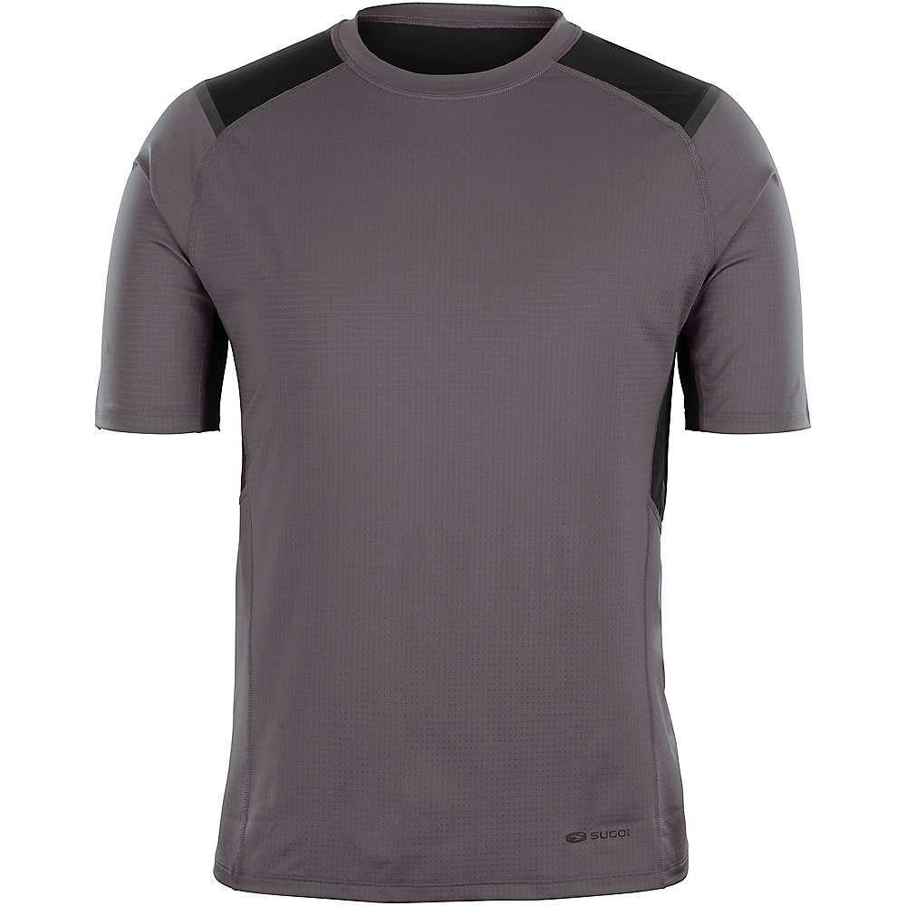 スゴイ Sugoi メンズ ランニング・ウォーキング トップス【titan ss shirt】Dark Charcoal