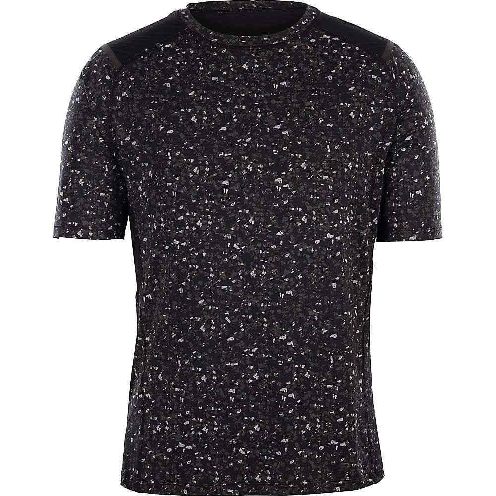 スゴイ Sugoi メンズ ランニング・ウォーキング トップス【titan ss shirt】Greyscale Terrazzo