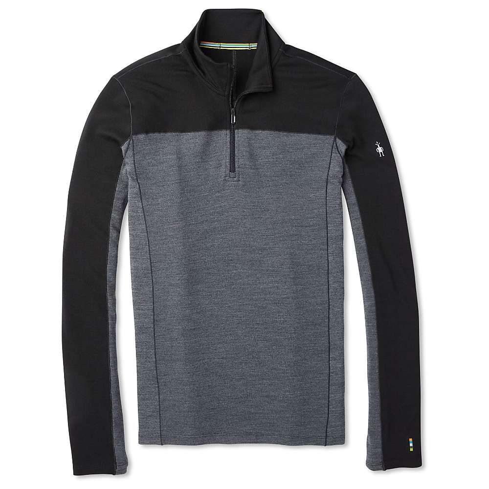 スマートウール Smartwool メンズ ランニング・ウォーキング トップス【merino sport 250 ls 1/4 zip top】Black