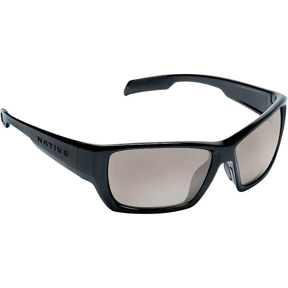 ネイティブ メンズ アクセサリー メガネ・サングラス【Native Ward Polarized Sunglasses】Iron / Silver Reflex