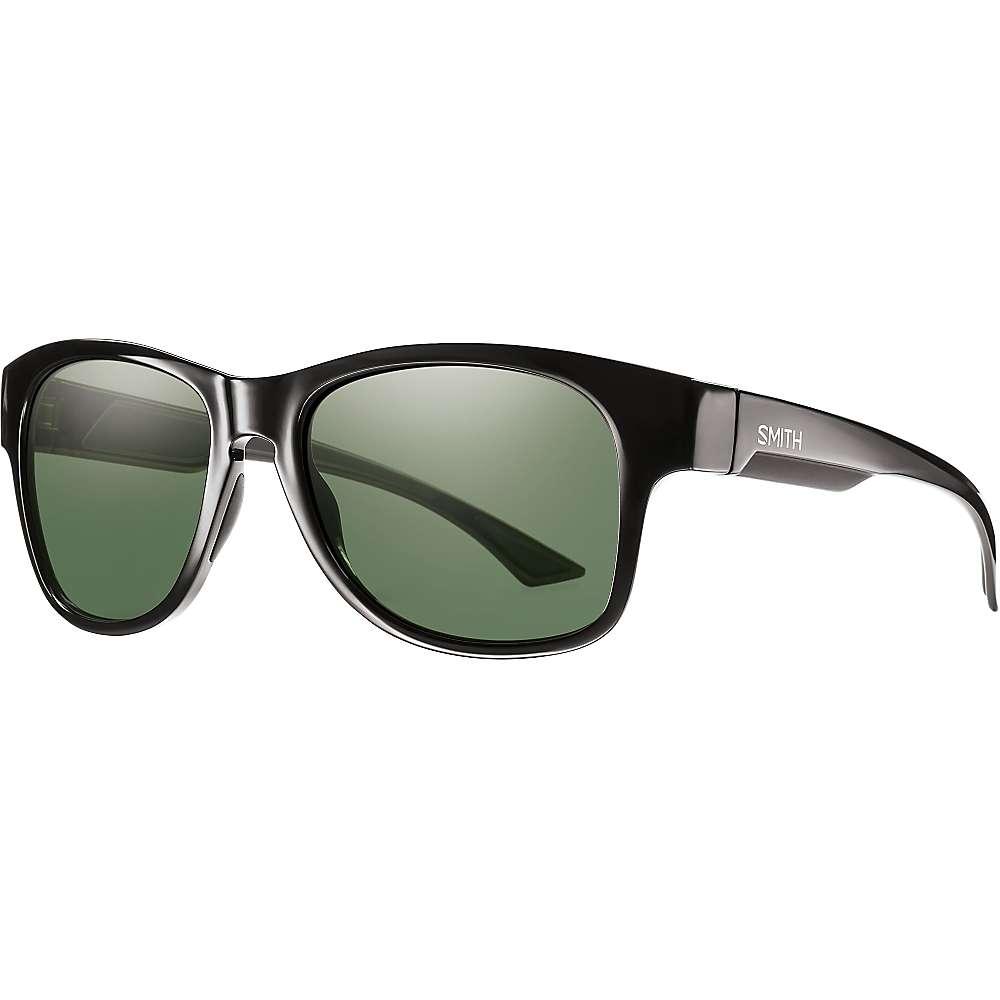 スミス メンズ アクセサリー メガネ・サングラス【Smith Wayward ChromaPop+ Polarized Sunglasses】Black / Polarized Grey Green