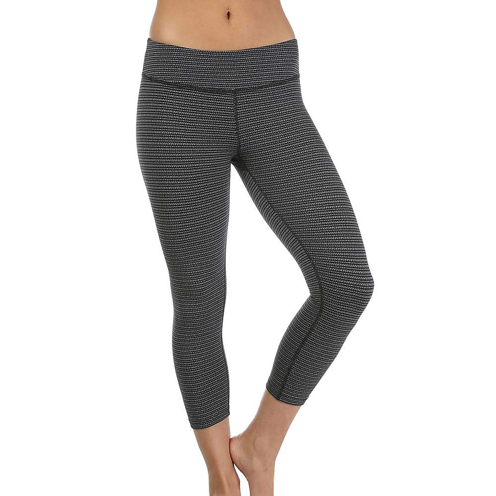 ビヨンドヨガ レディース ヨガ ウェア【Beyond Yoga Capri Legging】Black / White