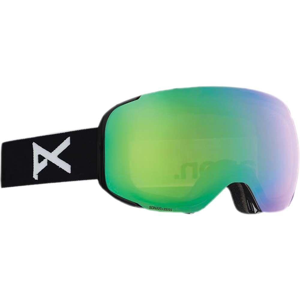 アノン Anon ユニセックス スキー・スノーボード ゴーグル【m2 mfi goggle】Black/Sonar Green/Sonar Infrared