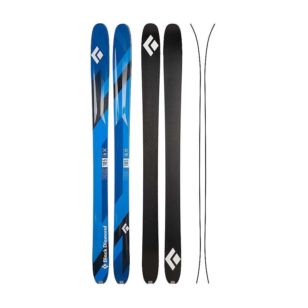 ブラックダイヤモンド 黒 Diamond ユニセックス スキー・スノーボード ボード・板【link 105 skis】