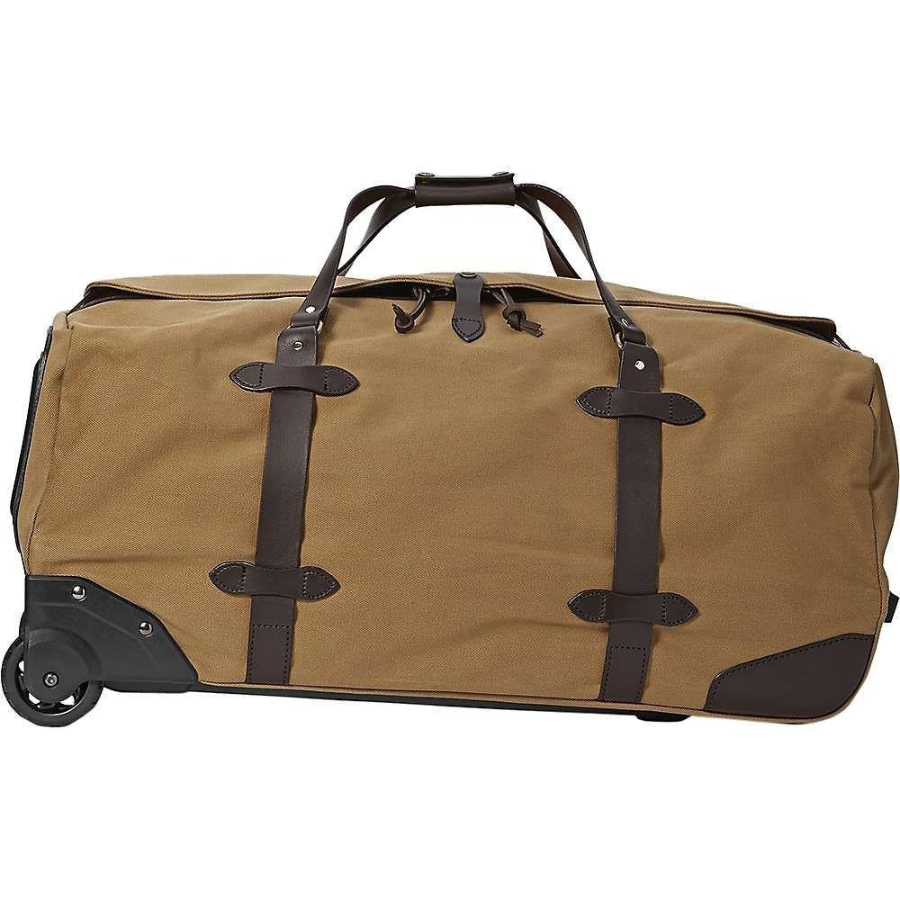 フィルソン Filson ユニセックス スーツケース・キャリーバッグ バッグ【large rolling duffle bag】Tan