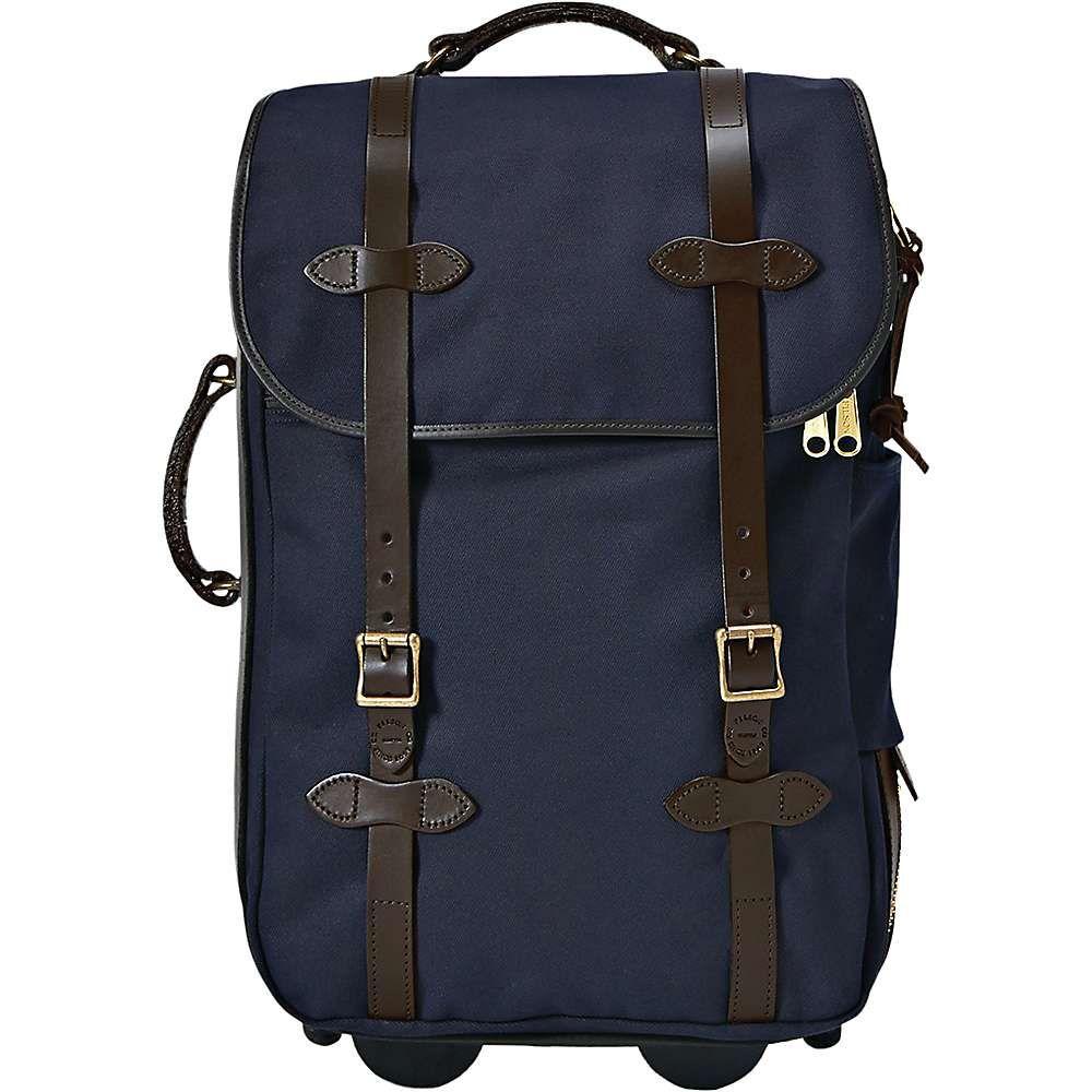 フィルソン Filson ユニセックス スーツケース・キャリーバッグ バッグ【medium rolling carry-on bag】Navy