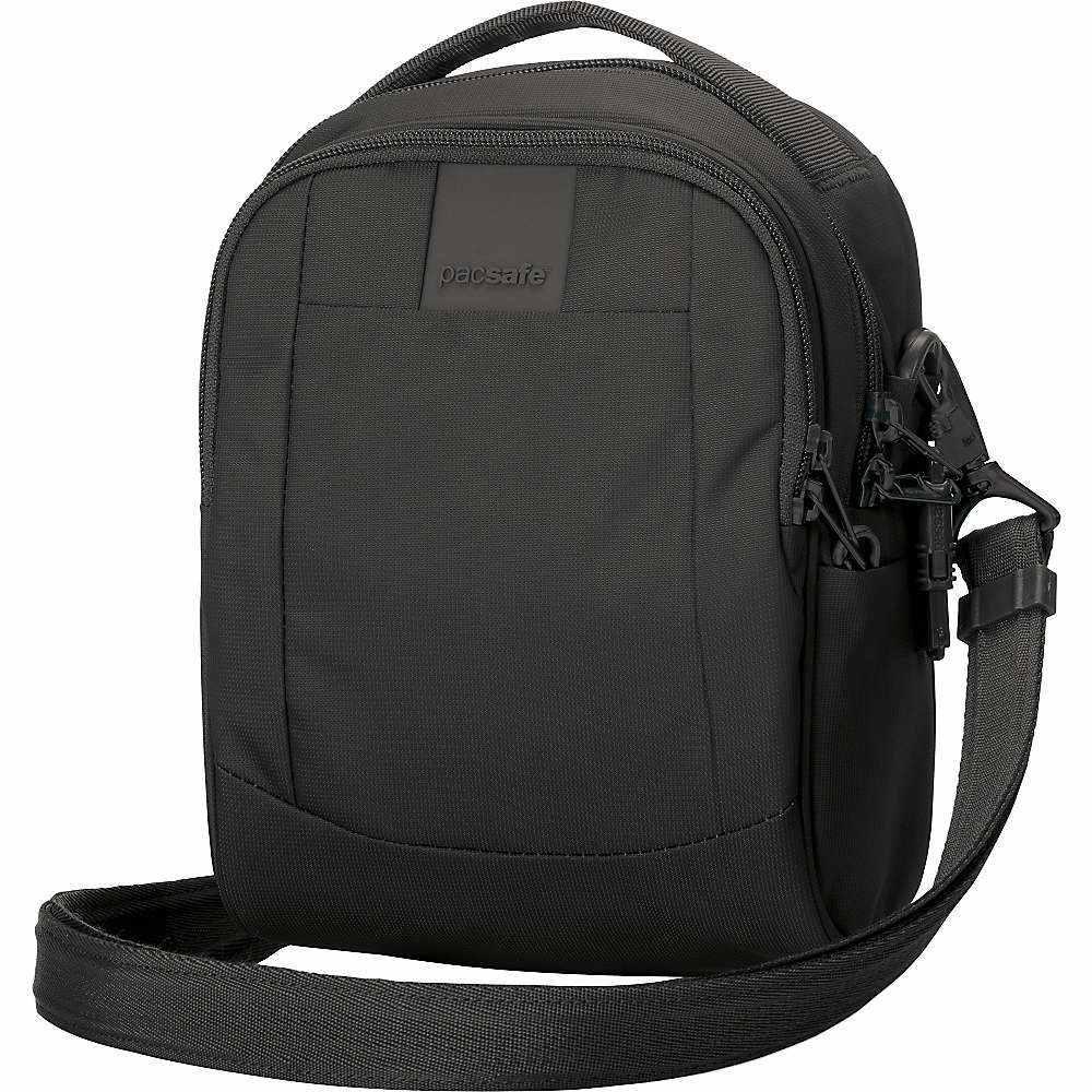 パックセイフ Pacsafe ユニセックス ショルダーバッグ バッグ【metrosafe ls100 anti-theft cross body bag】Black