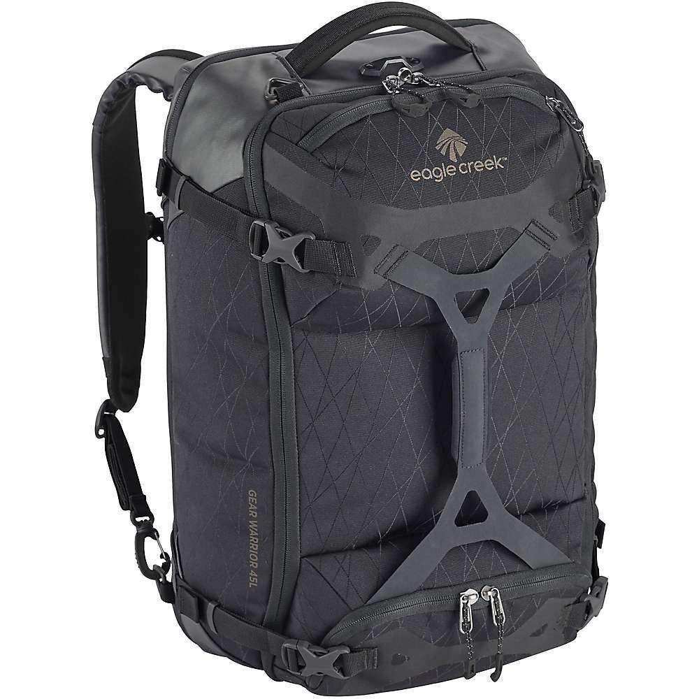 エーグルクリーク Eagle Creek ユニセックス スーツケース・キャリーバッグ バッグ【gear warrior 45l travel pack】Jet Black