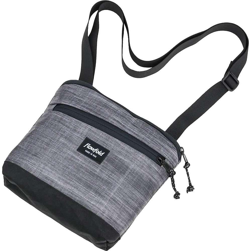 フローフォールド Flowfold ユニセックス ショルダーバッグ バッグ【muse crossbody bag】Heather Grey
