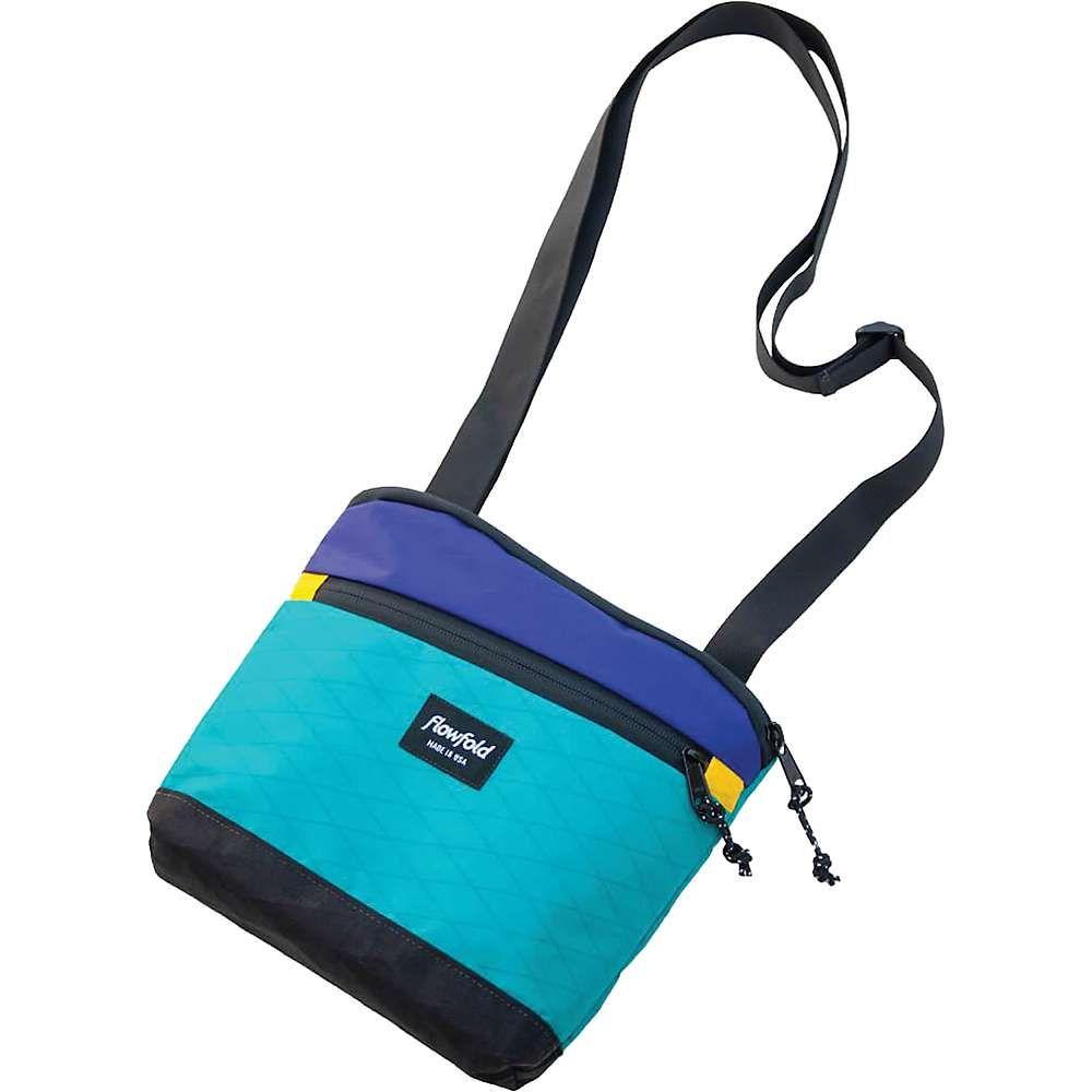 フローフォールド Flowfold ユニセックス ショルダーバッグ バッグ【muse crossbody bag】Aqua/Purple