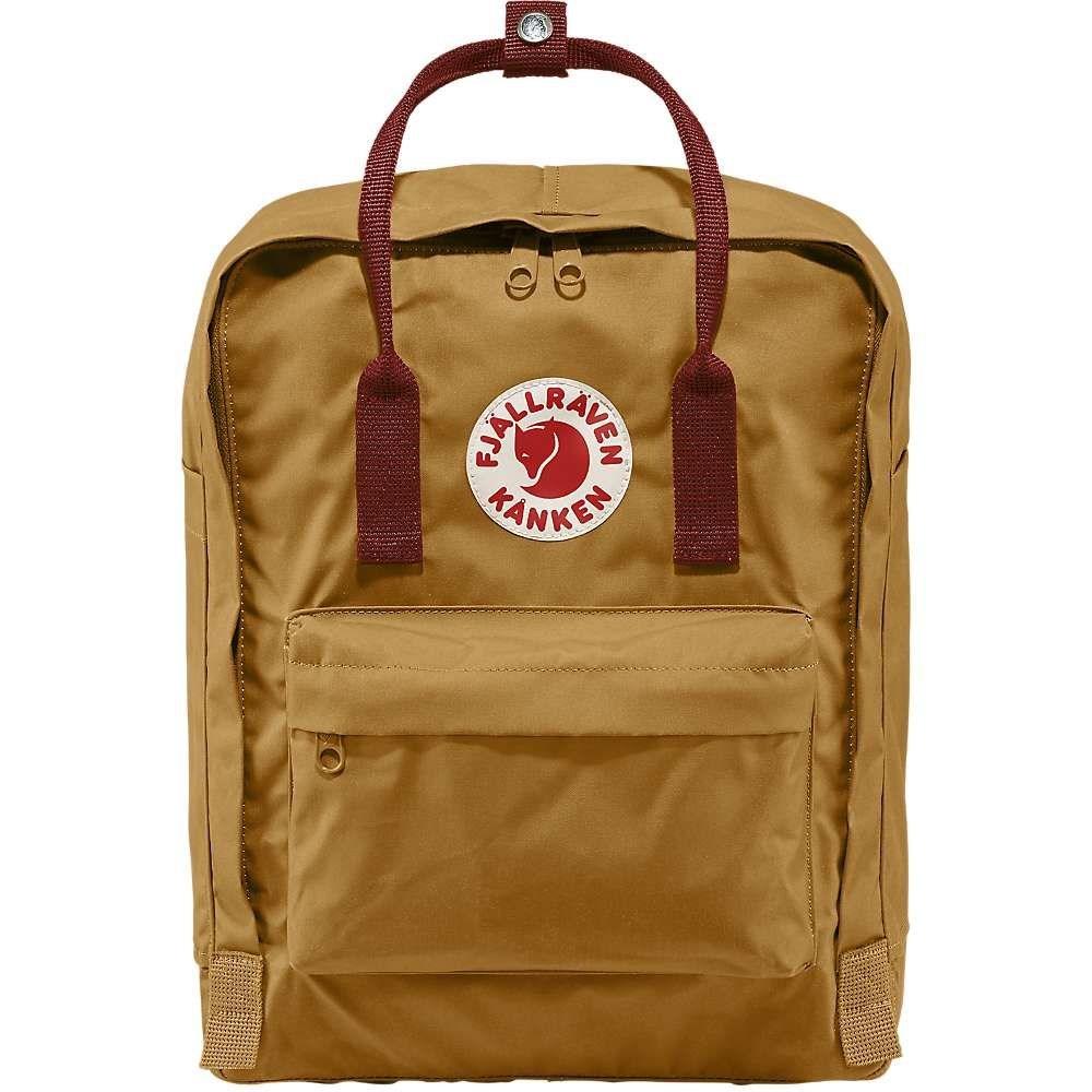 フェールラーベン Fjallraven ユニセックス ハイキング・登山 カンケン バックパック・リュック【kanken backpack】Acorn/Ox Red