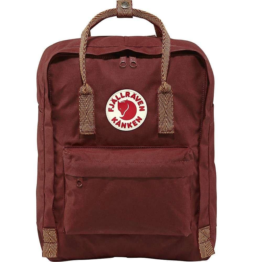 フェールラーベン Fjallraven ユニセックス ハイキング・登山 カンケン バックパック・リュック【kanken backpack】Ox Red/Goose Eye