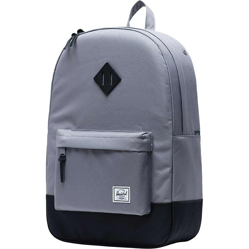 ハーシェル サプライ Herschel Supply Co ユニセックス ハイキング・登山 バックパック・リュック【heritage backpack】Grey/Black