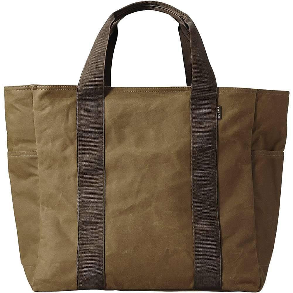フィルソン Filson ユニセックス トートバッグ バッグ【large grab n go tote bag】Dark Tan/Brown