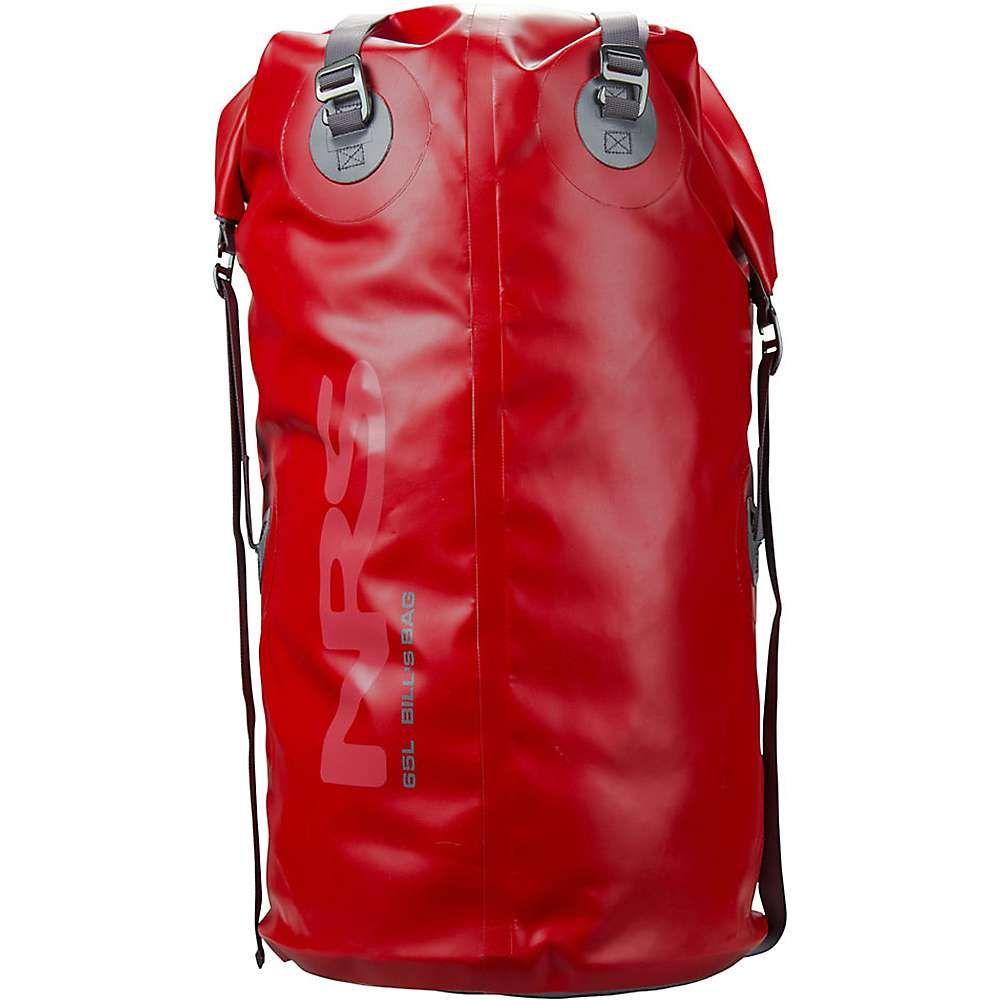 エヌアールエス NRS ユニセックス バッグ ドライバッグ【65l bill's bag dry bag】Red