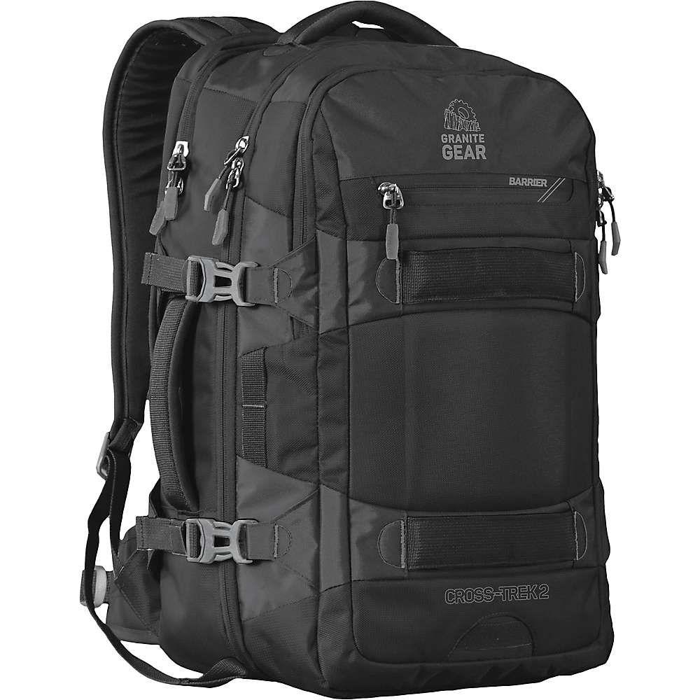 グラナイトギア Granite Gear ユニセックス バックパック・リュック バッグ【cross trek 2 travel backpack】Black/Flint