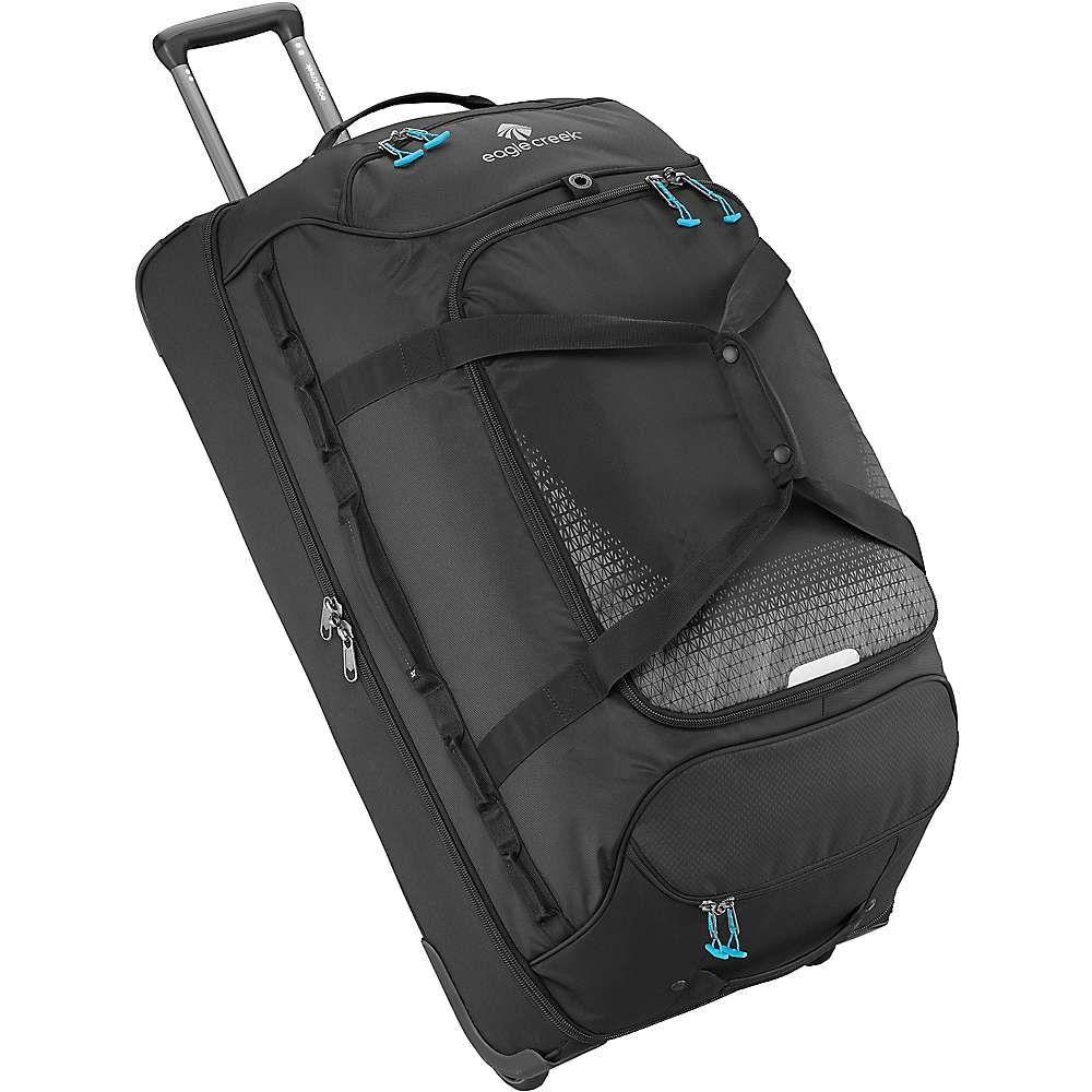 エーグルクリーク Eagle Creek ユニセックス スーツケース・キャリーバッグ バッグ【expanse drop bottom wheeled duffel bag】Black