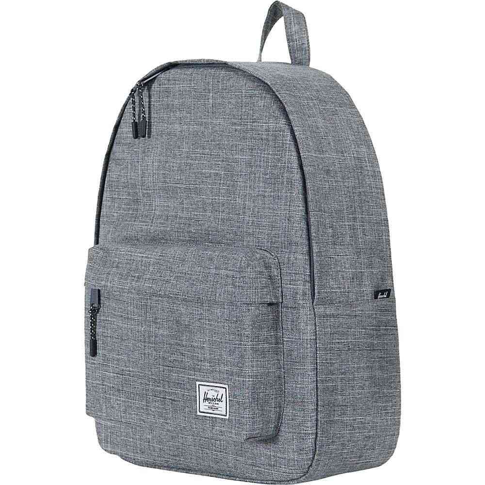 ハーシェル サプライ Herschel Supply Co ユニセックス ハイキング・登山 バックパック・リュック【classic backpack】Raven Crosshatch