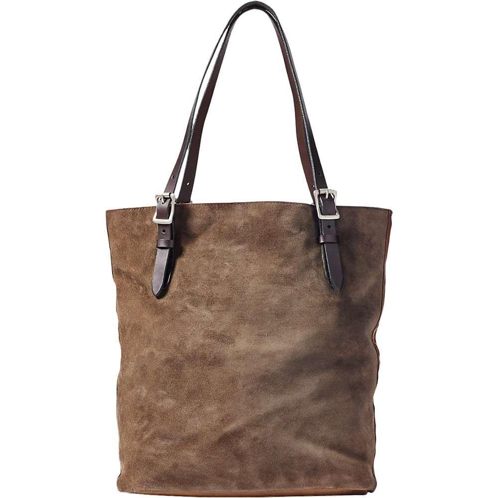 フィルソン Filson ユニセックス トートバッグ バッグ【tall rugged suede tote bag】Canteen Brown