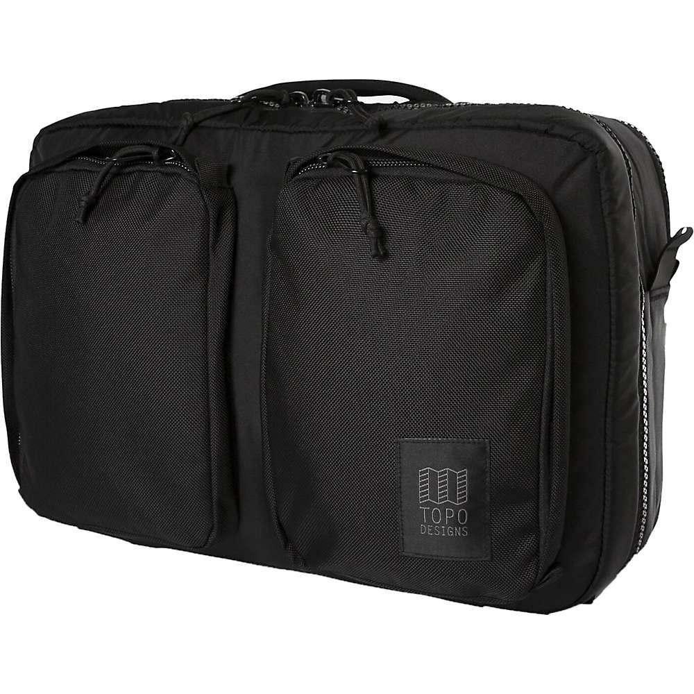 トポ デザイン Topo Designs ユニセックス バッグ 【global briefcase 3-day】Ballistic Black