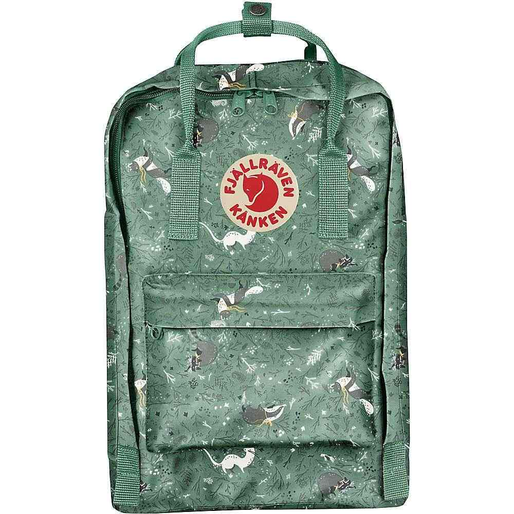 フェールラーベン Fjallraven ユニセックス パソコンバッグ 上等 カンケン バックパック バッグ Green art laptop kanken Fable backpack 激安