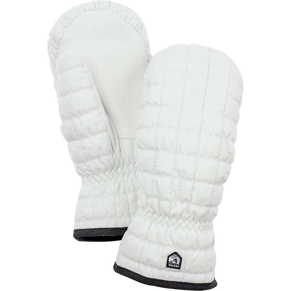 ヘスタ Hestra ユニセックス 手袋・グローブ 【moon light mitt】White