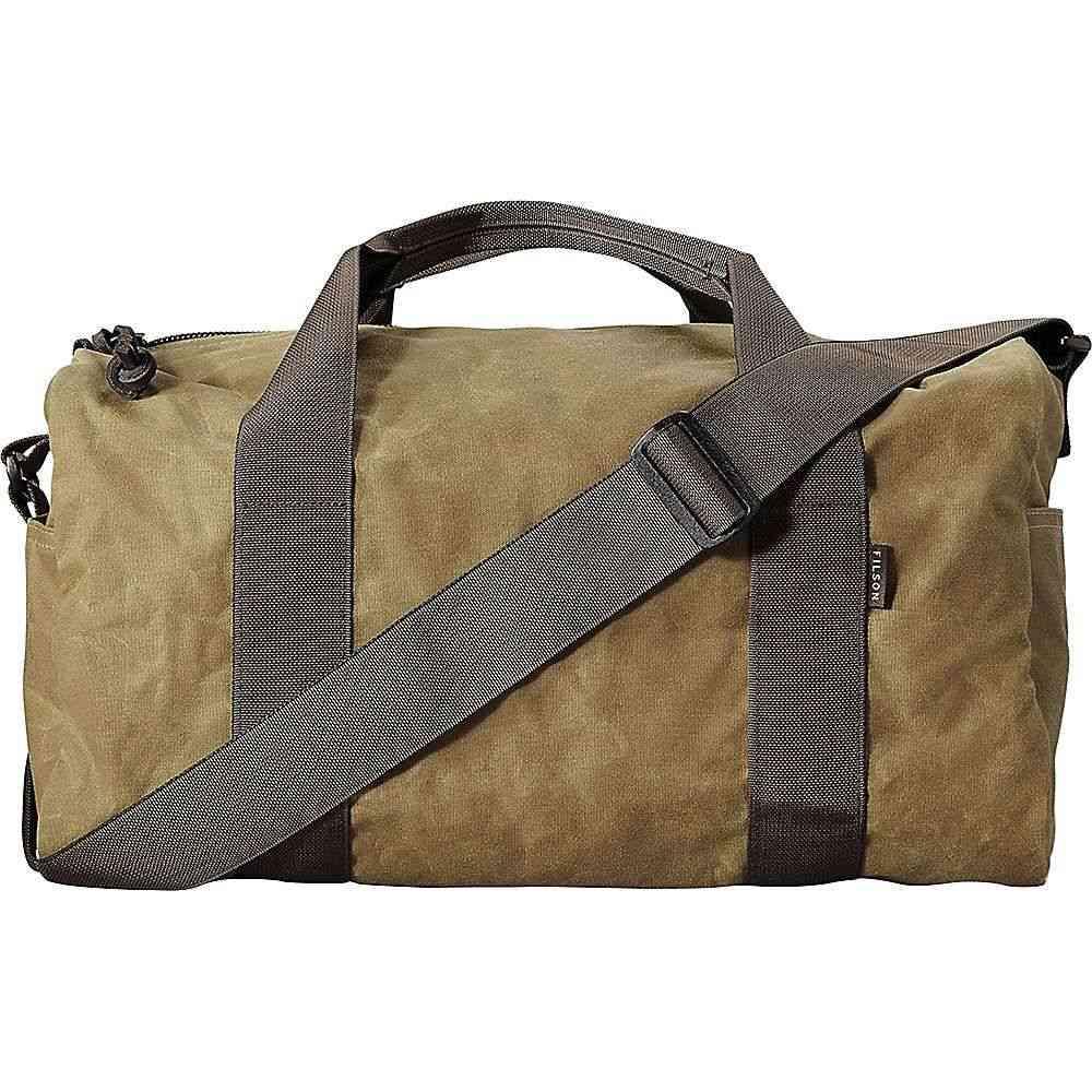 フィルソン Filson ユニセックス ボストンバッグ・ダッフルバッグ バッグ【small field duffle bag】Dark Tan/Brown