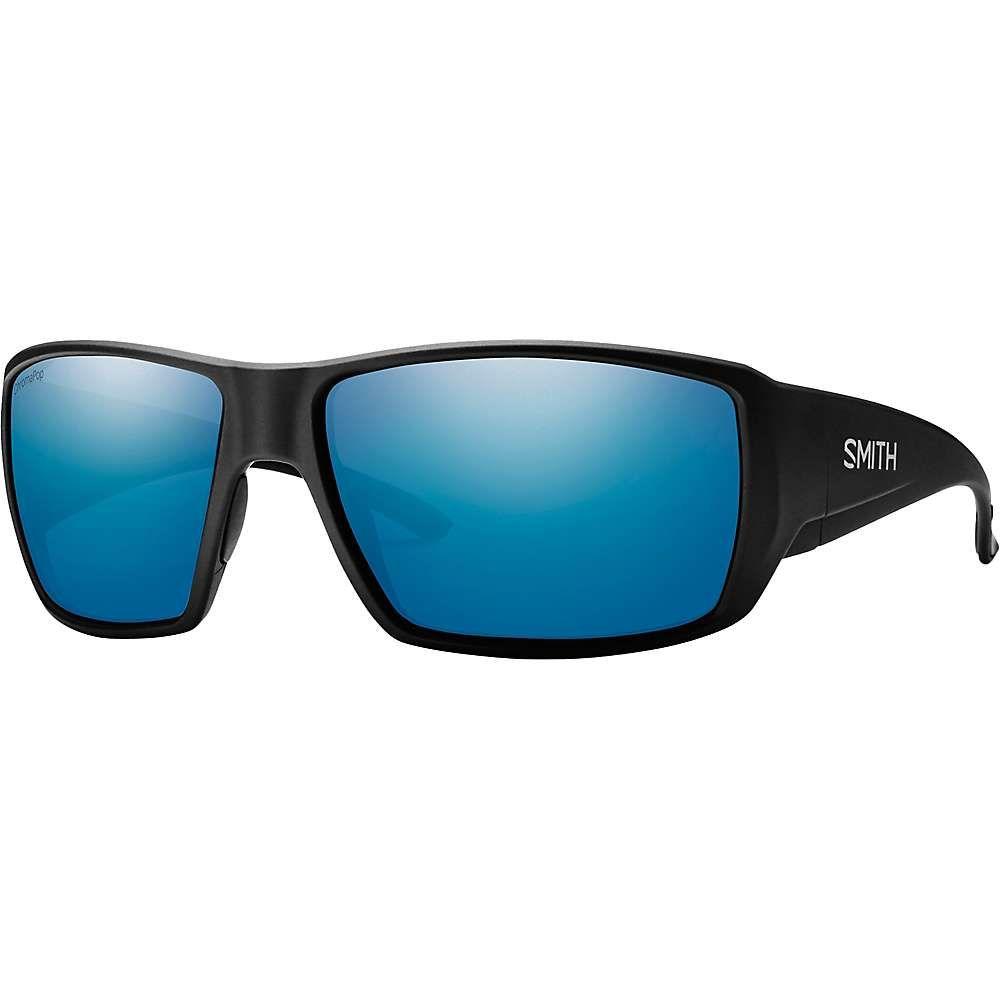 スミス Smith ユニセックス メガネ・サングラス 【guides choice chromapop polorized sunglasses】Matte Black/Polarized Blue Mirror