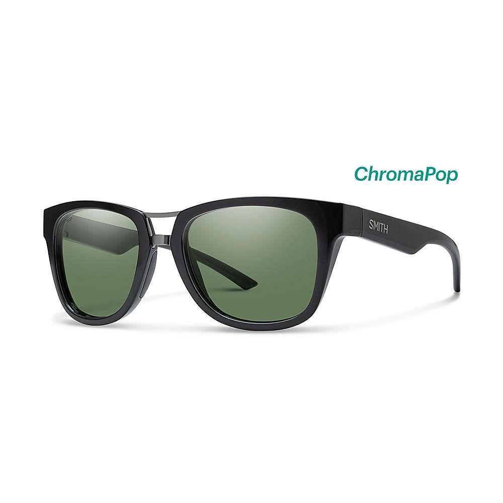 スミス Smith ユニセックス メガネ・サングラス 【landmark chromapop polarized sunglasses】Black/Polarized Grey Green