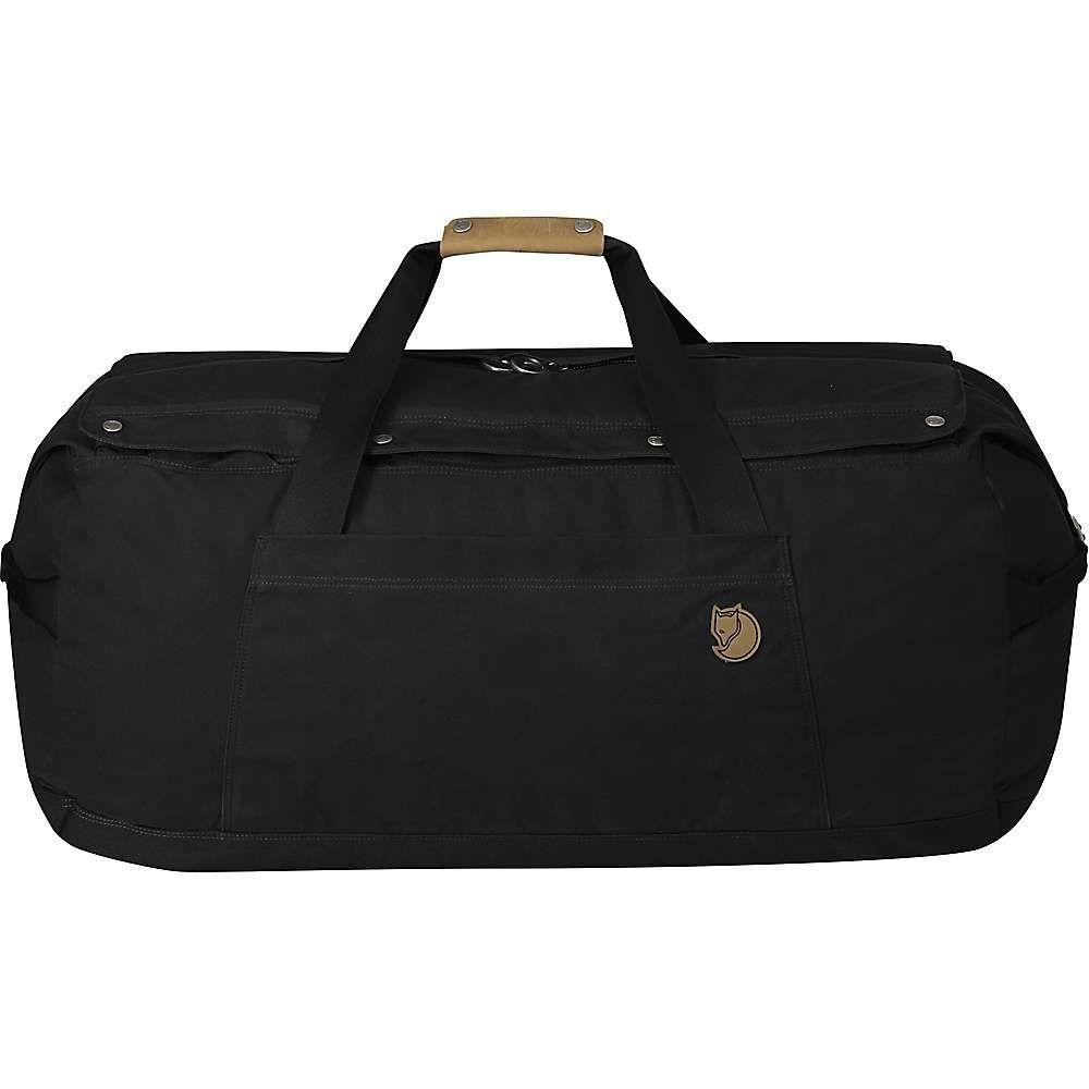 フェールラーベン Fjallraven ユニセックス ボストンバッグ・ダッフルバッグ バッグ【no.6 large duffel bag】Black