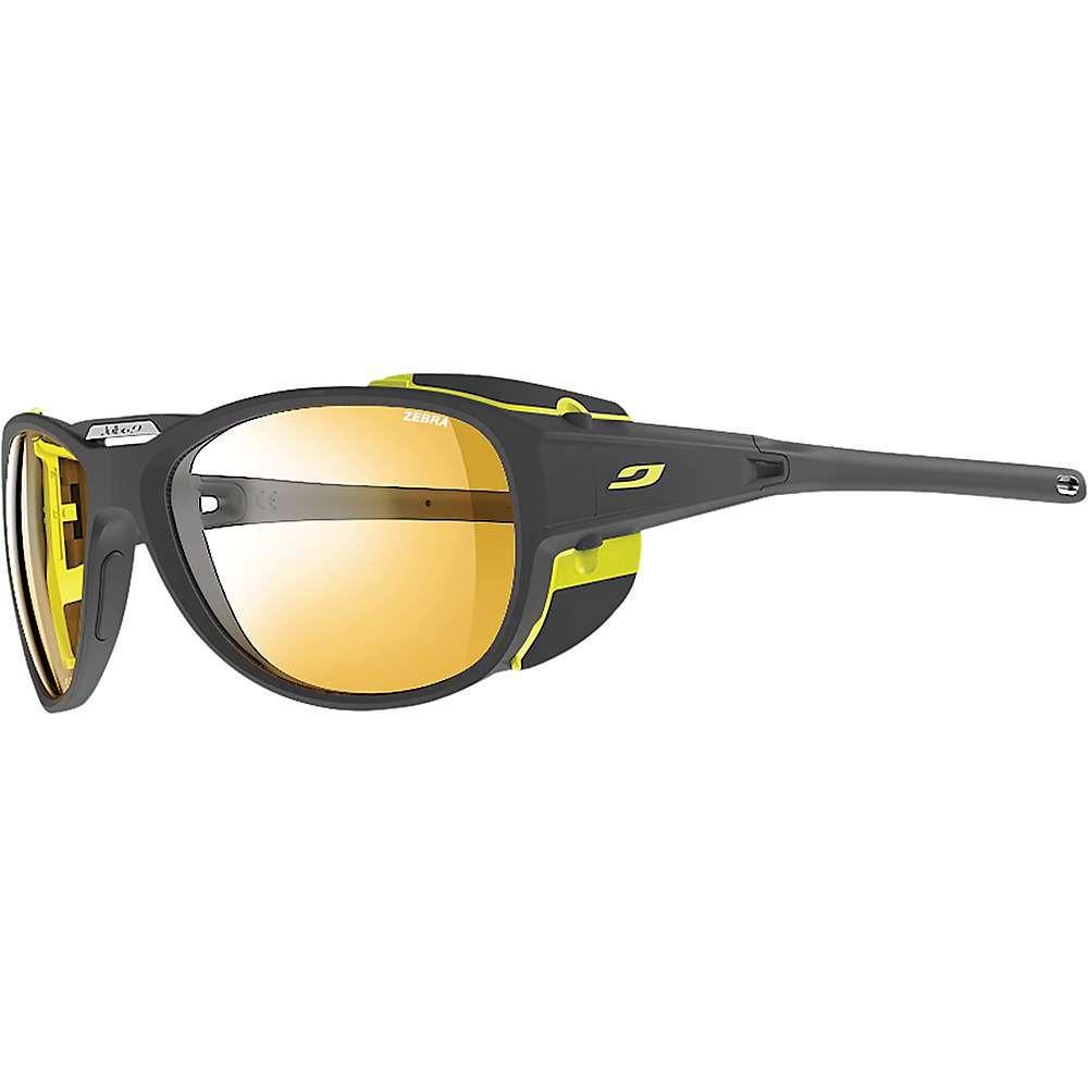 ジュルボ Julbo ユニセックス メガネ・サングラス 【explorer 2.0 sunglasses】Matte Grey/Yellow/Zebra
