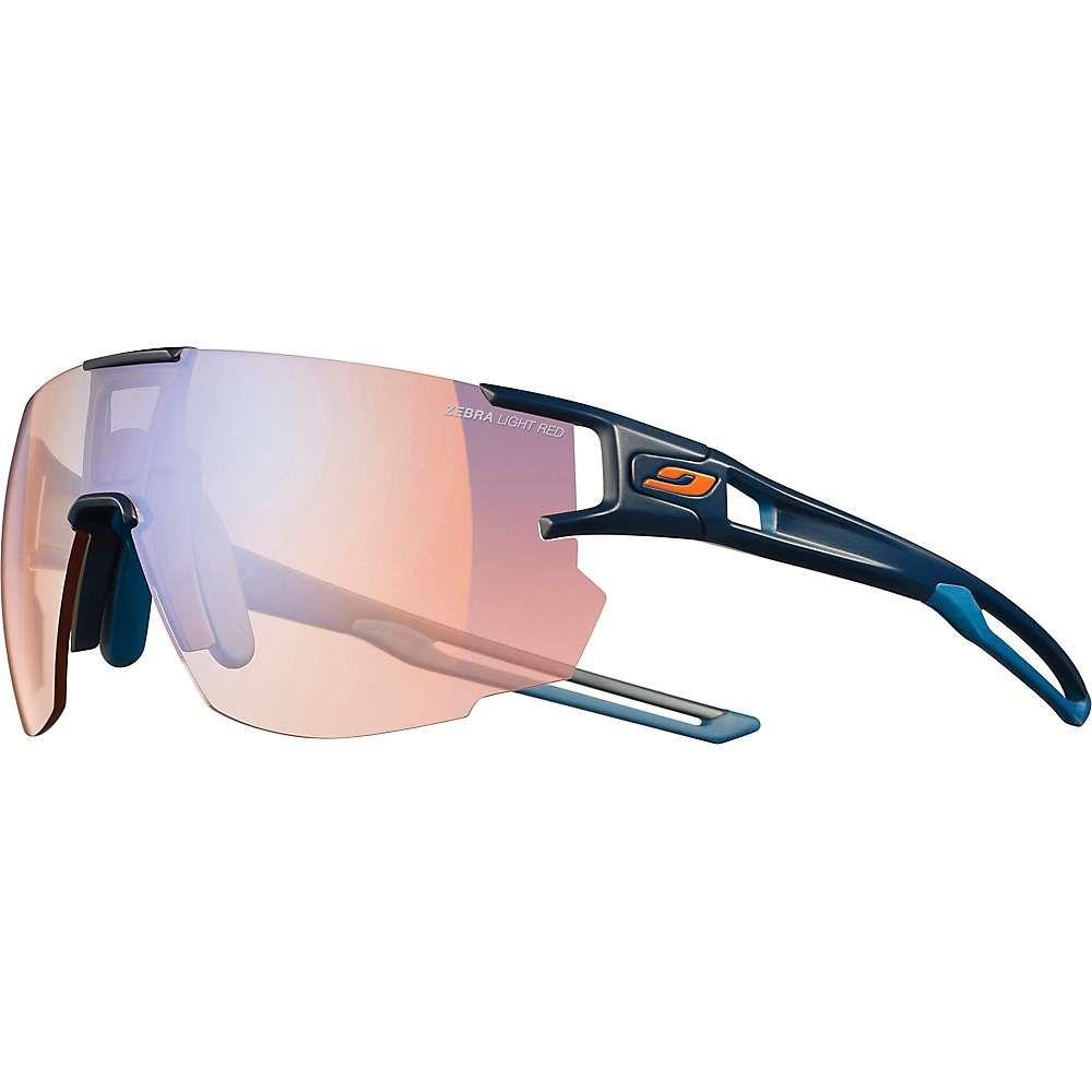ジュルボ Julbo ユニセックス メガネ・サングラス 【aerospeed sunglasses】Dark Blue/Dark Blue/Orange/Zebra Light Red
