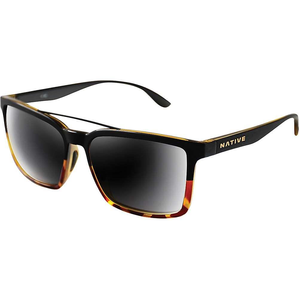 ネイティブ Native ユニセックス メガネ・サングラス 【four corners polarized sunglasses】Matte Black Tort/Grey Polarized