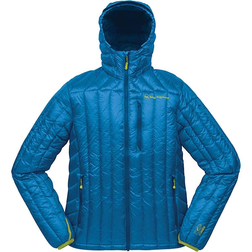 ビッグアグネス Big Agnes メンズ ダウン・中綿ジャケット フード アウター【shovelhead hooded down jacket】Blue/Dark Blue