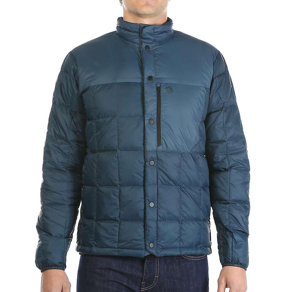 マウンテンハードウェア Mountain Hardwear メンズ ダウン・中綿ジャケット アウター【packdown jacket】Hardwear Navy/Zinc
