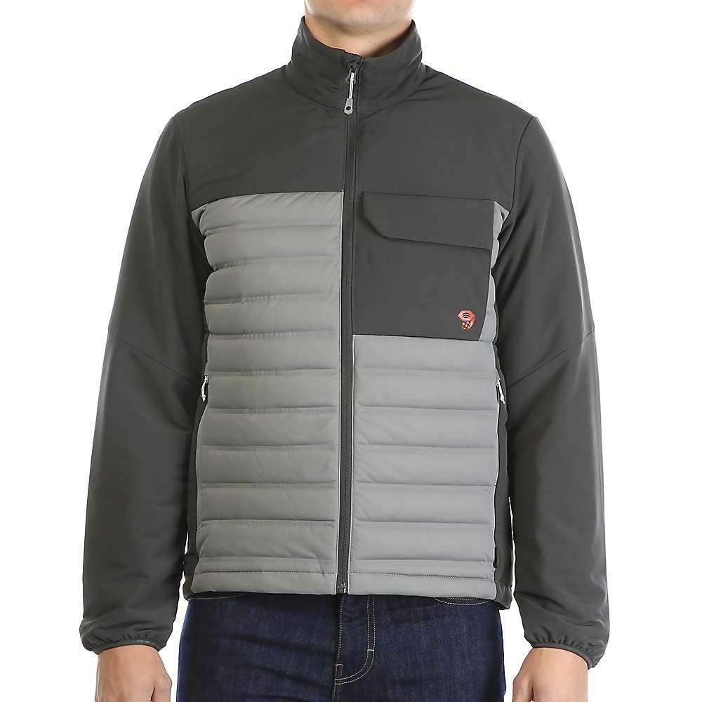 マウンテンハードウェア Mountain Hardwear メンズ ダウン・中綿ジャケット アウター【stretchdown hd jacket】Manta Grey/Shark